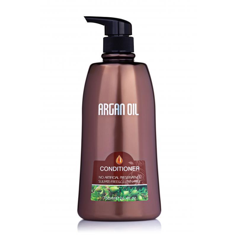 Безсульфатный кондиционер для волос с аргановым маслом 750 мл, Bingo Morocco argan oil