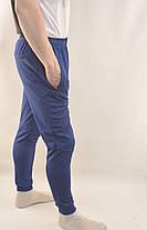Штани спортивні чоловічі звужені яскраві трикотажні Nike - тканина лакоста, фото 3