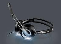 Першокласний звук гарнітури PC 230 для спілкування по Skype, прослуховування музики, перегляду фільму.