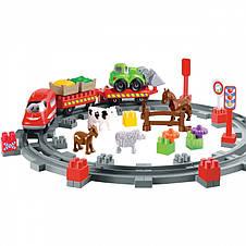 Поезд с животными 57 элементов Ecoiffier 3068, фото 3