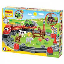 Поезд с животными 57 элементов Ecoiffier 3068, фото 2