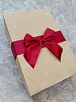 Индивидуальная коробка для свадебных бокалов с декором, фото 1