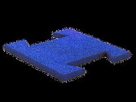 Гумова плитка-пазл 20 мм (синя)