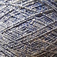 25% хлопок, 22% лен, 53% вискоза MIXED - бобинная пряжа для машинного и ручного вязания
