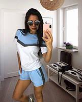 Костюм с шортами (голубой), фото 1
