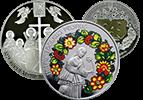 Пам'ятні та ювілейні монети України із дорогоцінних металів