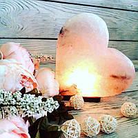 Соляная лампа «Сердце» 3-4кг