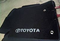 Ворсовые коврики в салон Тойота Land Cruiser 120 (Prado)