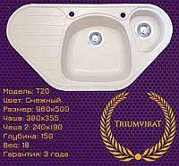 Гранитная кухонная мойка Triumvirat T20