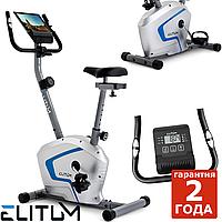 Магнитный велотренажер Elitum RX300 silver до 125 кг. Гарантия 24 мес.
