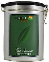 Чай зеленый SunLeaf Gunpowder 200г.