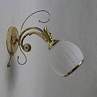 Бра в спальню, 1 лампа.