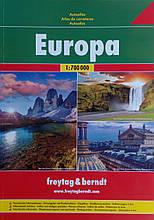 Атлас автомобильных дорог Европы  Autoatlas  Europa   freytag & berndt  1 : 700 000