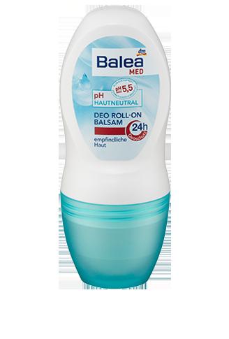 Balea роликовый антиперспирант бальзам Deo Roll-On balsam ph5.5 50мл