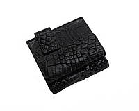 Кошелек из кожи крокодила Ekzotic Leather Черный (cw 91), фото 1