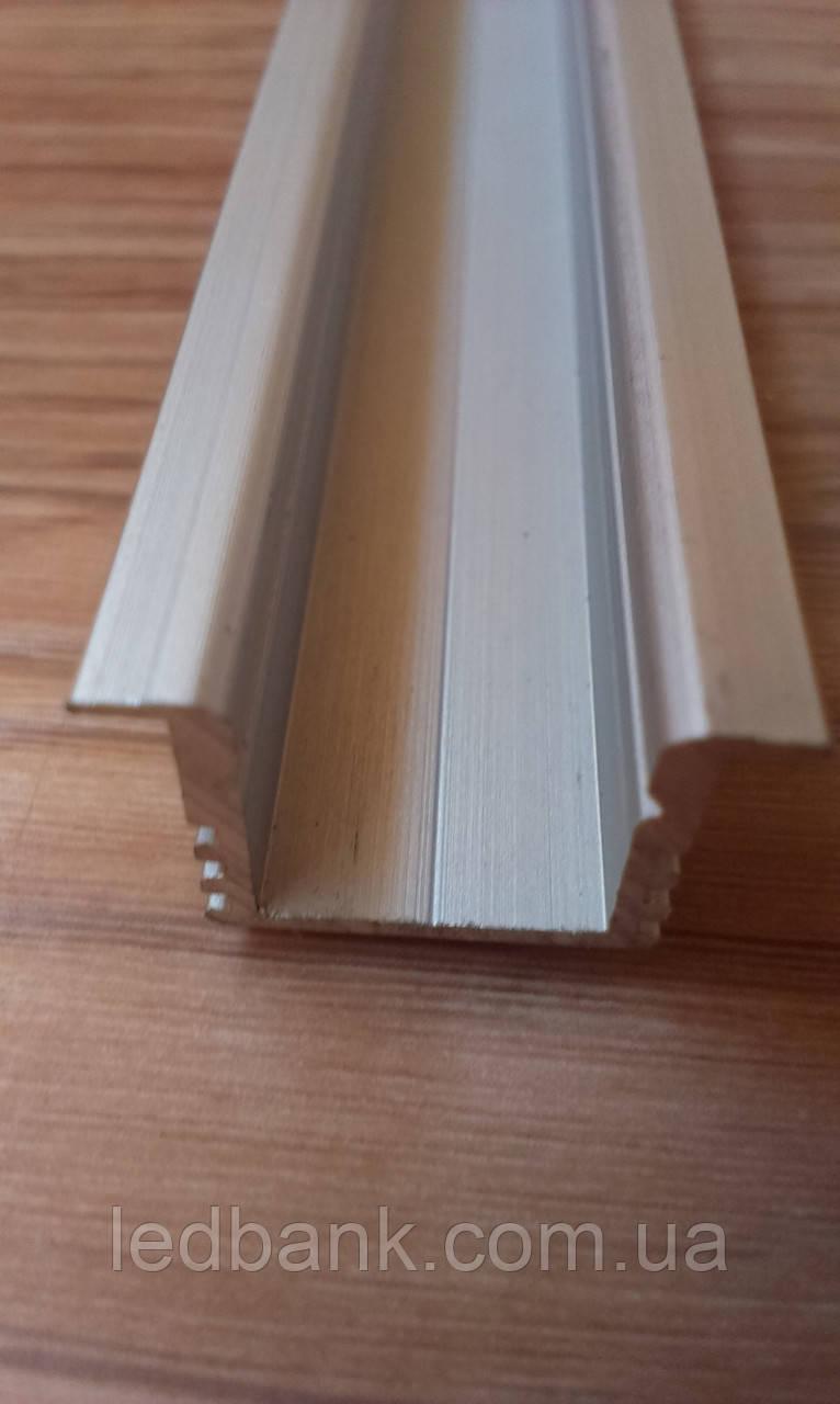 Алюминиевый профиль для LED ленты врезной ЛПВ12