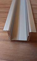 Алюминиевый профиль для LED ленты врезной ЛПВ12, фото 1