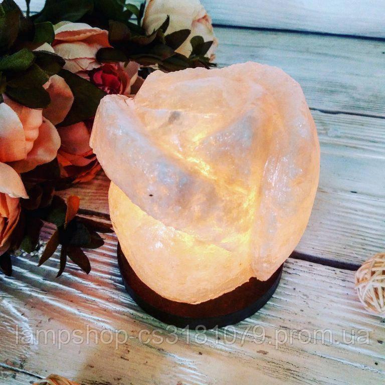 Соляной светильник «Роза» 1кг