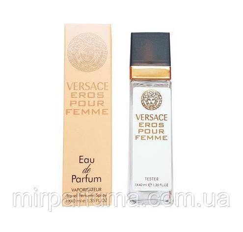 Парфюмерия женская реплика тестер Versac Eros Pour Femme - Travel Perfume 40ml копия, фото 2