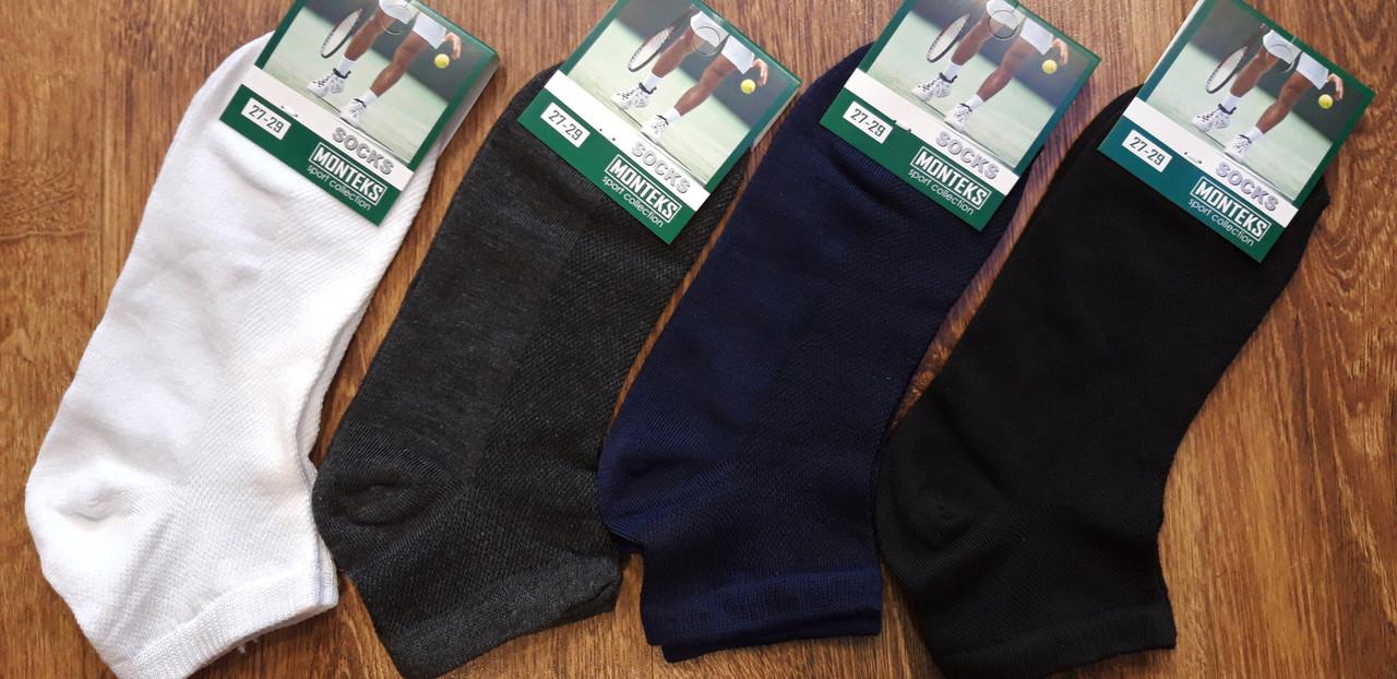 """Мужские короткие носки(сетка)""""MONTEKS"""",ассорти,27-29"""