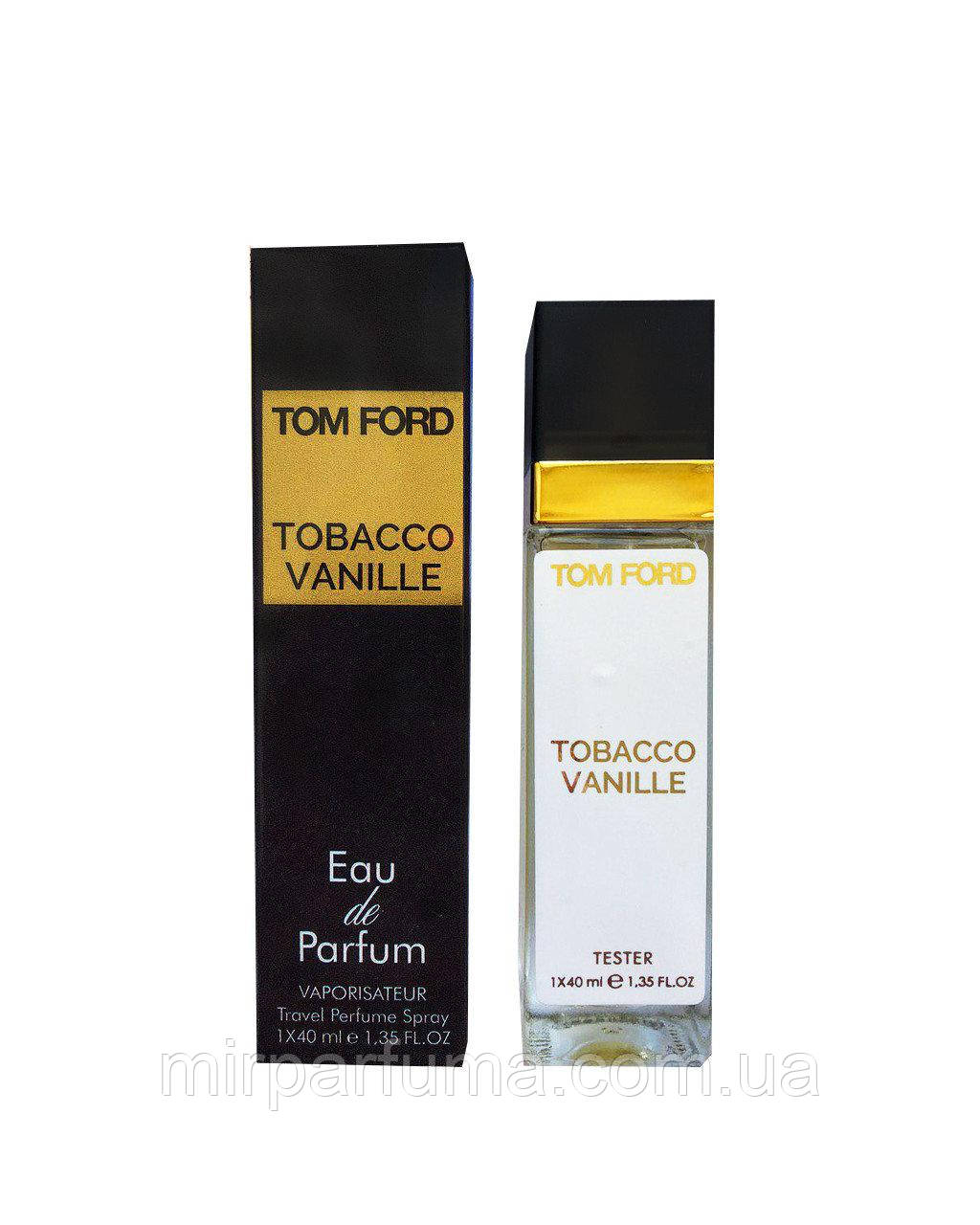 Парфюм женский реплика тестер Tom Ford Tobacco Vanille - Travel Perfume 40ml