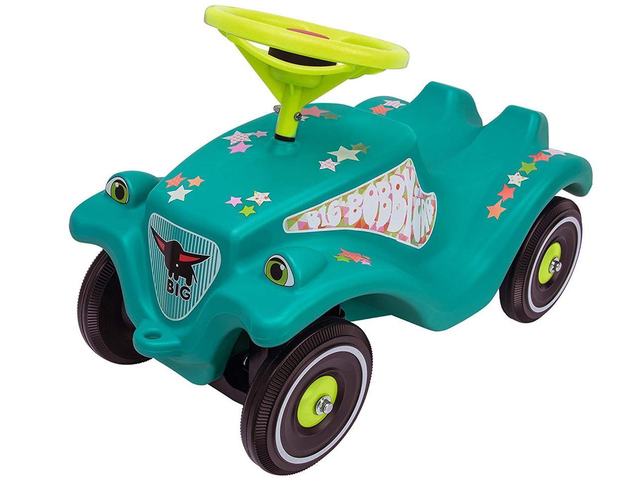 Машинка Big автомобиль каталка Звезда  и защитные накладки 56108
