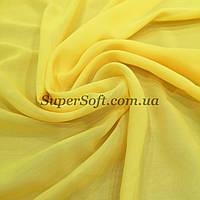 Ткань шифон желтый