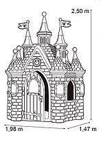 Feber SUPERPALACIO. Великий дитячий будиночок для Принцес, фото 3