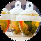 Набор для варки яиц без скорлупы Eggies | силиконовые формочки для варки яиц 6 шт | яйцеварка, фото 2