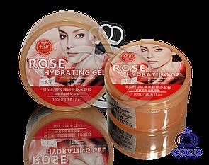 Корейский гель для лица и тела Rose Hydrating Gel ( Роза)