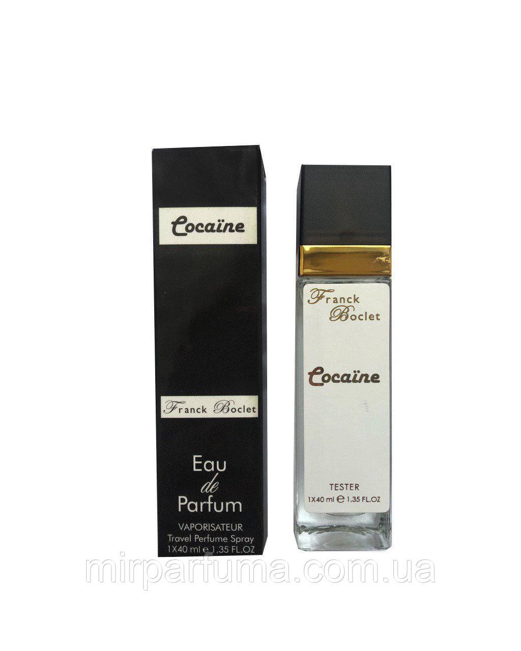 Женские духи тестер Franck Boclet Cocaїne - Travel Perfume 40ml
