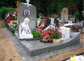 Мраморный памятник М-211
