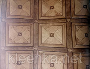 Линолеум Квадро бытовой для дома, школы, подсобных помещений 2 м ширина от 1 метра, фото 2