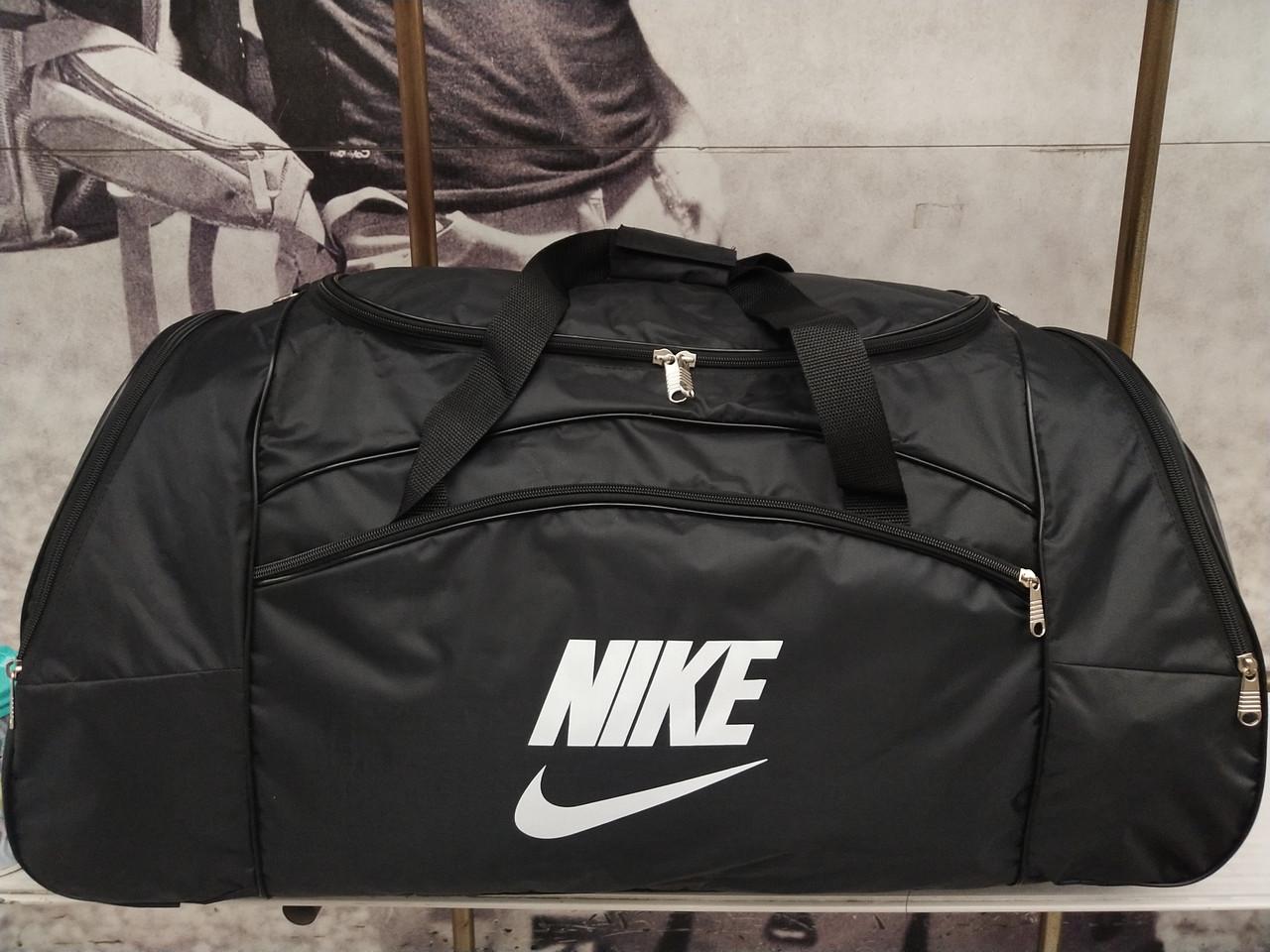 32af7737501c Сумка спортивная черная, сумка на тренировку, сумка спортивная nike копия -  Pull Store -