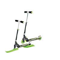 Детский скутер - самокат 2 в 1  Kidigo Snow Scooter