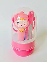 Детский набор для гигиены  розовый, фото 1