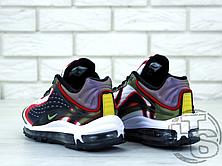 Мужские кроссовки Nike Air Max Deluxe Sequoia Green Orange AJ7831-300 , фото 2