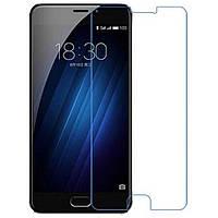 Защитное противоударное стекло для телефона  Meizu M3E  (Мейзу, стекло, стекло для смартфона)