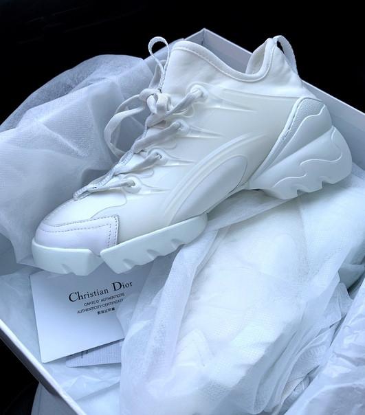 Женские кроссовки Dior white, Реплика Люкс