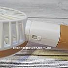 "Ручной мини-вентилятор на аккумуляторе Small bear Brown. Портативный мини вентилятор ""Мишка"" Коричневый, фото 8"