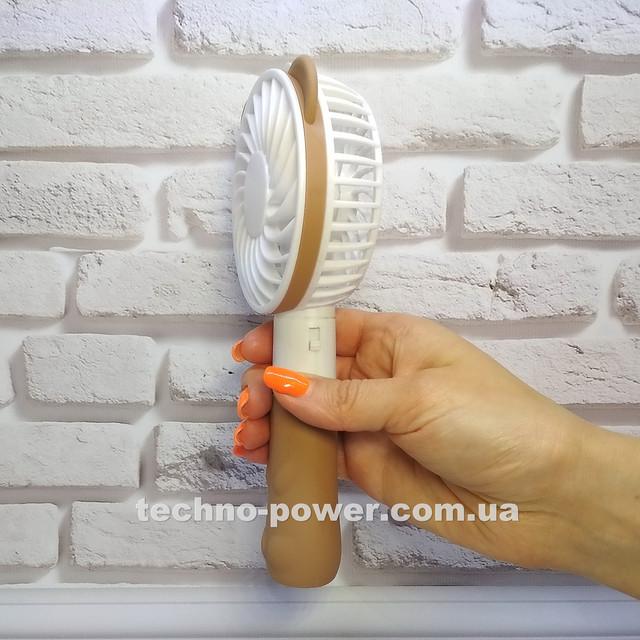 Ручной мини-вентилятор на аккумуляторе Small bear