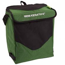 Термосумка КЕМПІНГ HB5-717 (19л), зелена