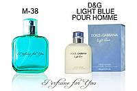 Мужские духи Light Blue pour homme Dolce&Gabbana 50 мл