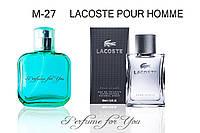Мужские духи Lacoste Pour Homme Lacoste 50 мл