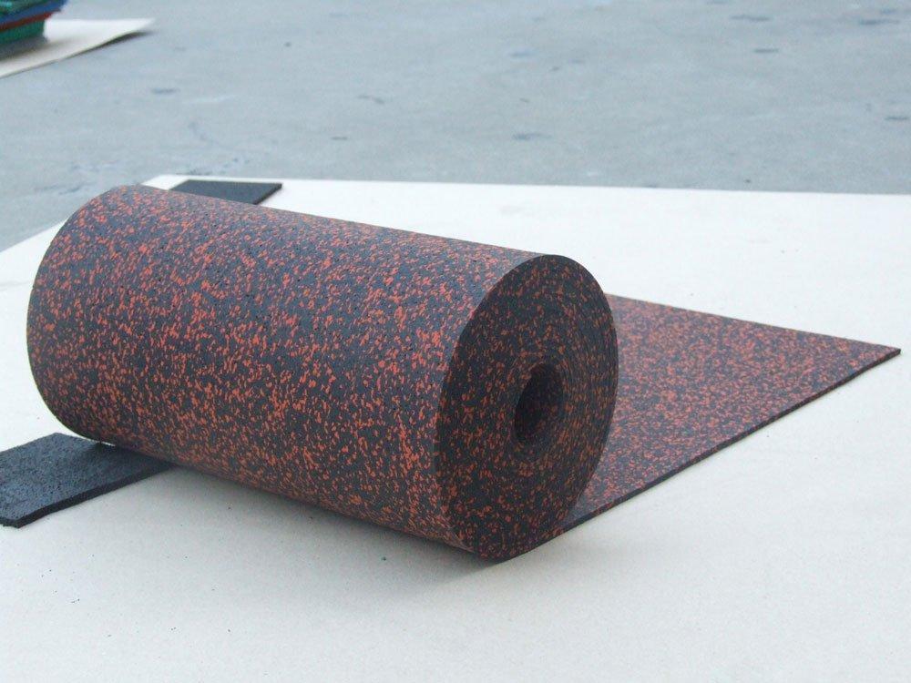 Рулонное покрытие ЭПДМ 8 мм (100 см ширина)