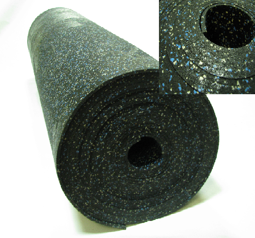 Рулонное покрытие ЭПДМ 9 мм (100 см ширина)