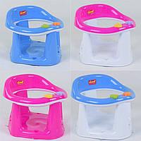 Детское сиденье, стульчик для купания на присосках BIMBO BM-01611, 4 вида, розовый, голубой