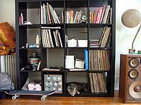 Стеллаж для книг Кубус Микс 4*4 1500х1500х290мм цвет в ассортименте