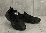 Мужские кроссовки Nike Huarache (черные), фото 5