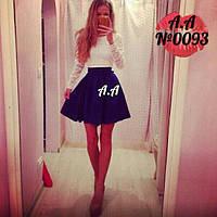 Платье мини 42-46р
